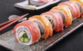Отравление роллами и суши