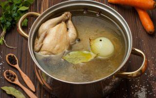 Рецепт полезного куриного бульона при отравлении