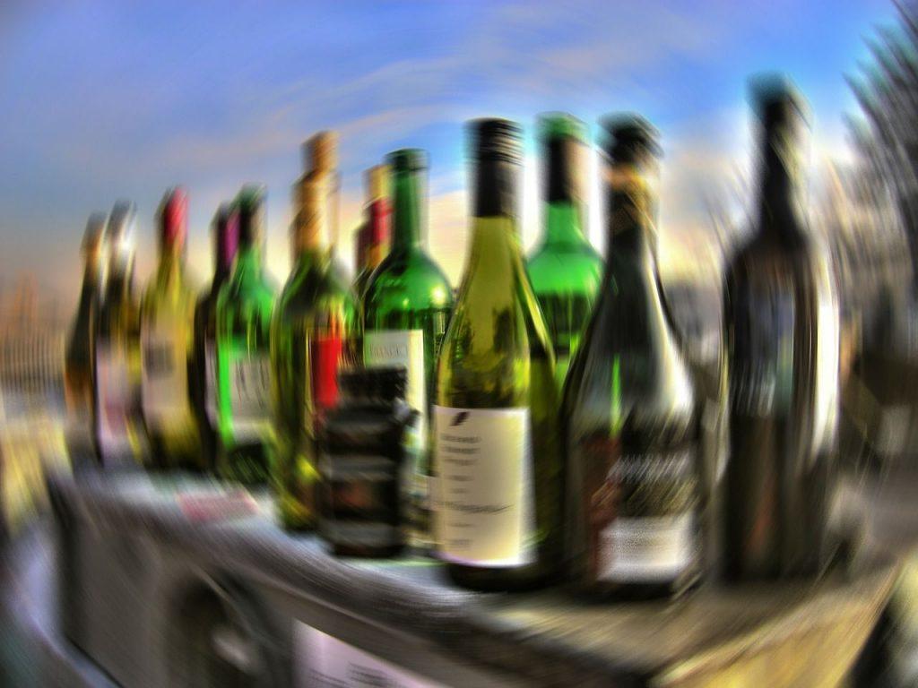 интоксикация вином