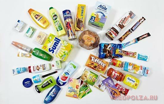 Продукты с пальмовым маслом